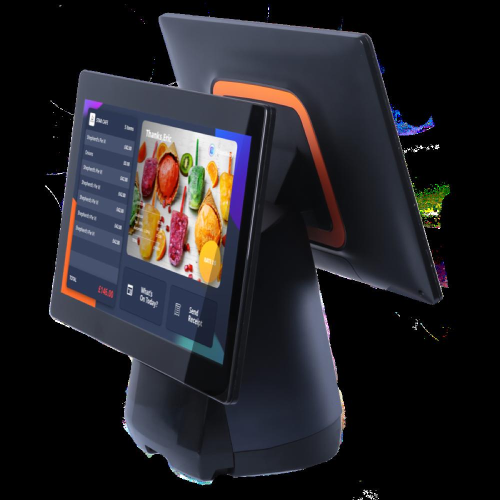 dual screen pos, customer facing display