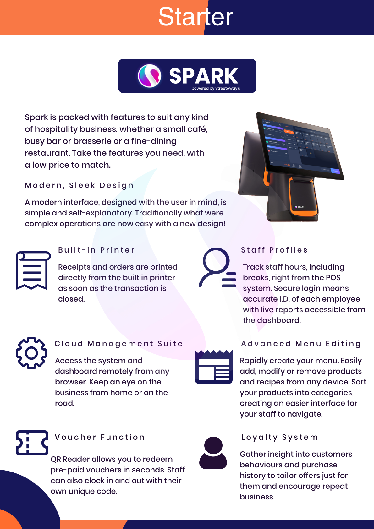 spark starter bundle summary of features